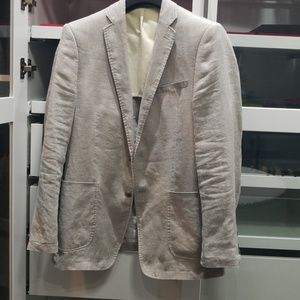 Mens Calvin Klein linens jacket